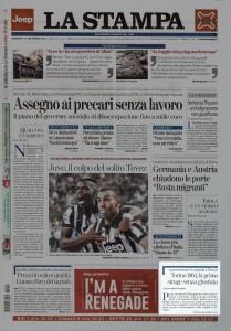 La Stampa - Prima pagina